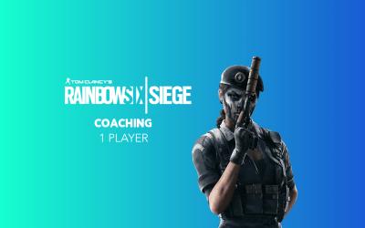 Live Coaching (1 Player) Rainbow Six Siege para eSports by Ziqma