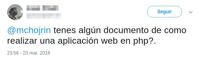 Cómo realizar una aplicación web en php