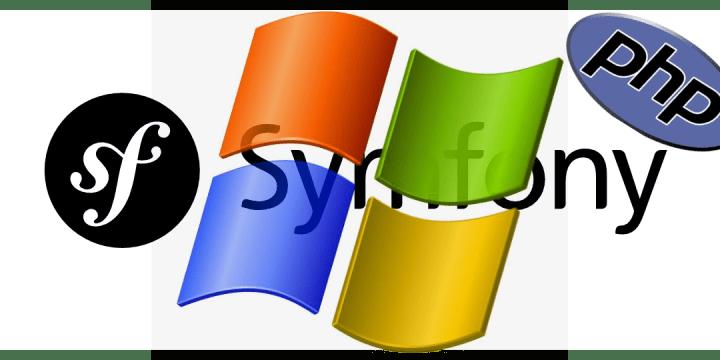 Qué se necesita para desarrollar usando Symfony en Windows