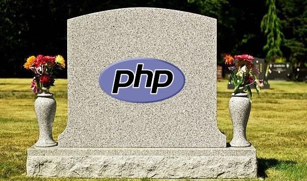 ¿Es cierto que PHP está muerto?