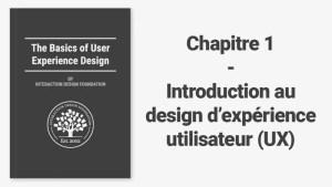 Une brève introduction au design d'expérience utilisateur (UX)