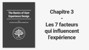 Les 7 facteurs qui influencent l'expérience