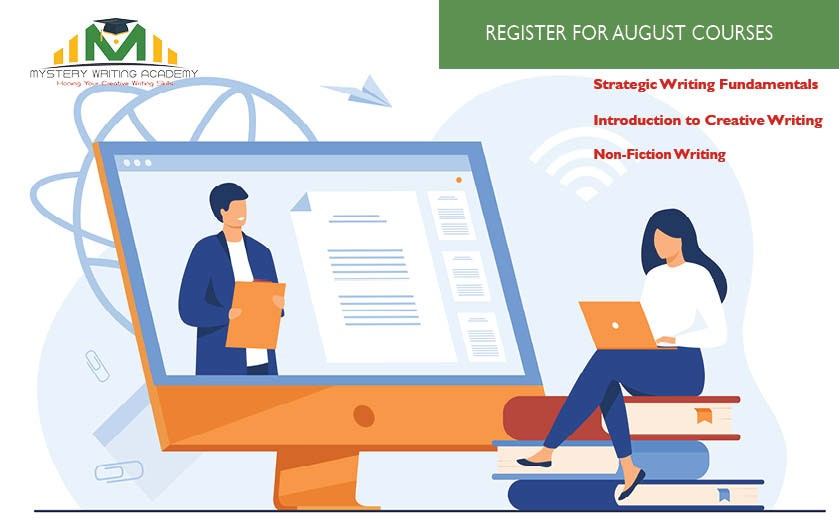 Register for August 2021 Writing Courses