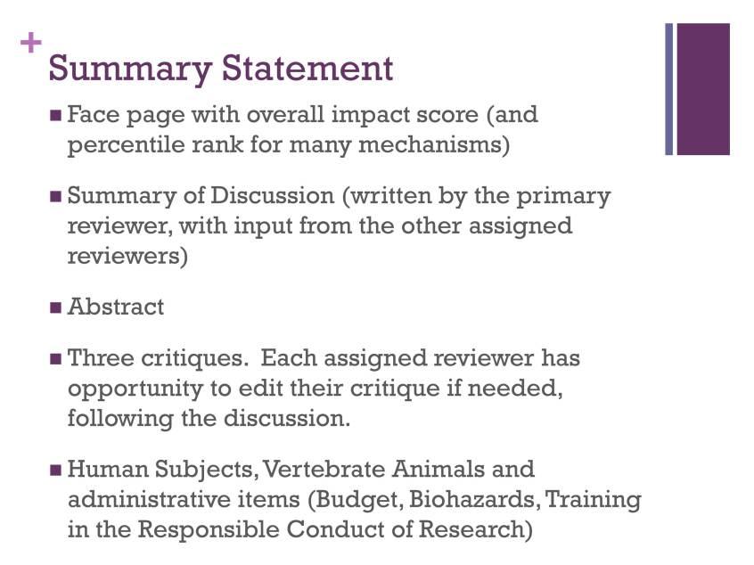 Grantsmanship: The Review Process - Scoring   ASHA Journals