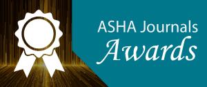 2019 ASHA Journals Awards