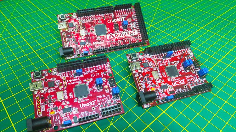 Máster en programación para PIC32 con las tarjetas de chipKIT