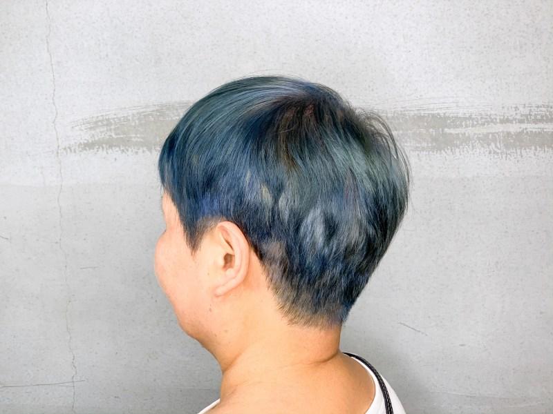 白髮的染髮思考1