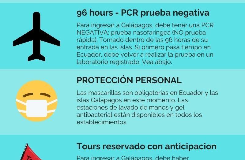 REQUISITOS PARA ENTRADA A ECUADOR Y GALAPAGOS