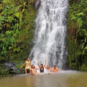 waterfall route adventure package galapagos diving