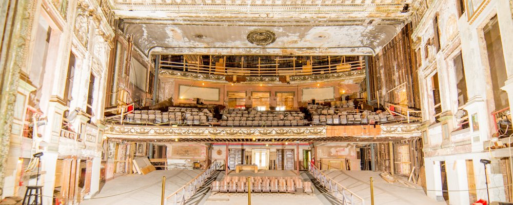 Theatre Restoration Donors Academy Center Of The Arts