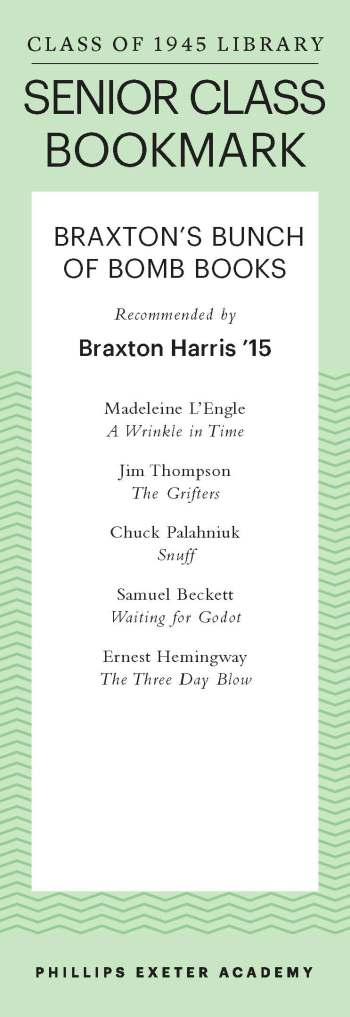 Braxton Harris '15