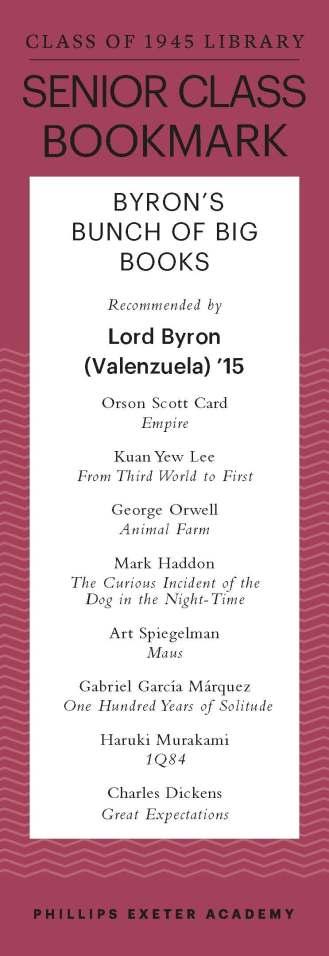 Byron Valenzuela '15