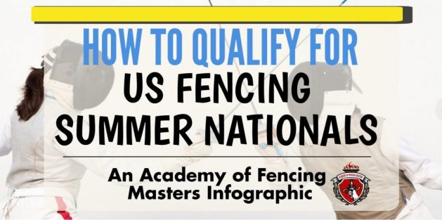 How to Qualify for 2018 US Fencing Summer Nationals