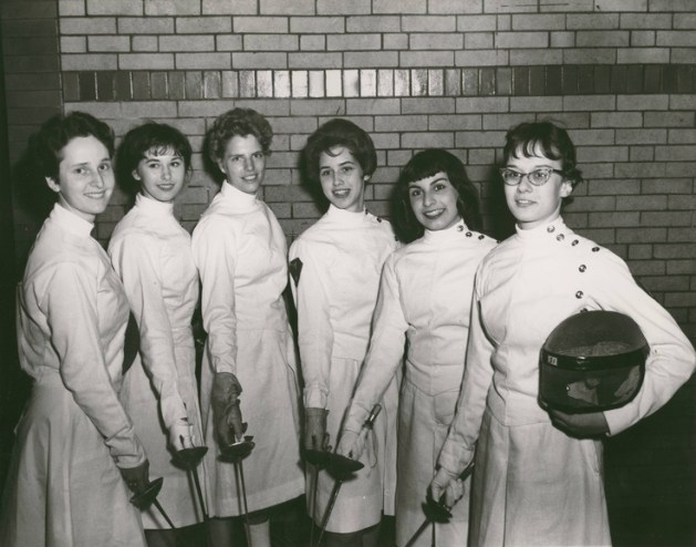 The power of women in fencing