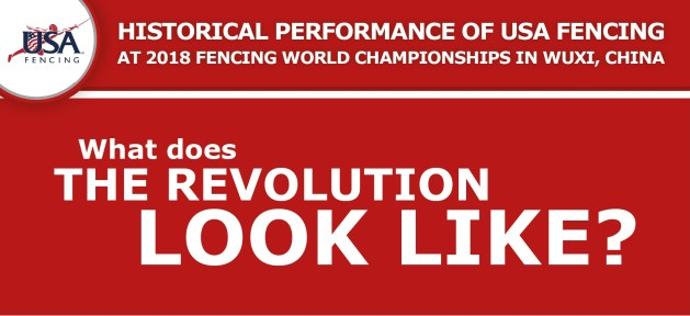 Infographic - Historic Performance of USA Fencing at 2018 Fencing World Championships in Wuxi, China