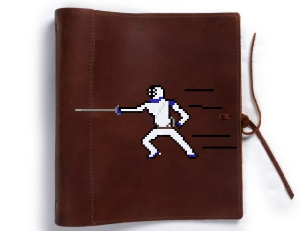 fencing scrapbook