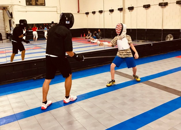Why fencers must warm up before private lessons