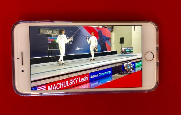 Smartphone Fencing Background