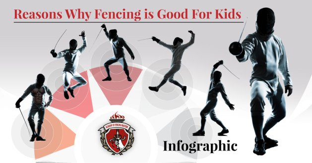 Why fencing is good for kids- cover image
