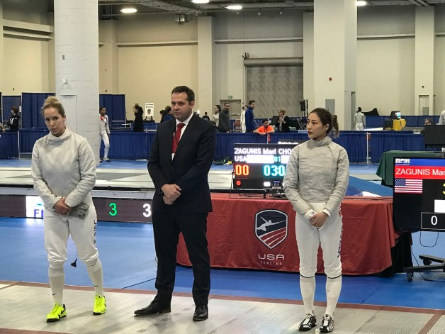 Competing to Train vs. Competing to Win in Fencing - Mariel Zagunis at Absolute Fencing Gear Sabre World Cup in Salt Lake City December 2019