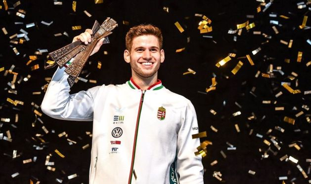 2019 Men's Epee World Champion Gergely Siklosi (Gergo Siklosi)