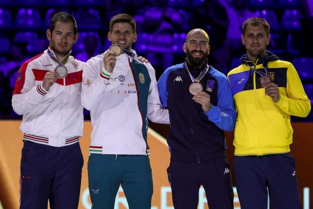 Gergely Siklosi - Gold Sergey Bida - Silver Andrea Santarelli and Igor Reizlin - Bronze