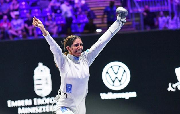 Nathalie Moellhausen - 2019 Women's Epee World Champion