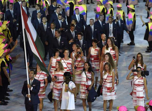 Áron Szilágyi is Hungarian team flag bearer at the Olympic Games in Rio 2016