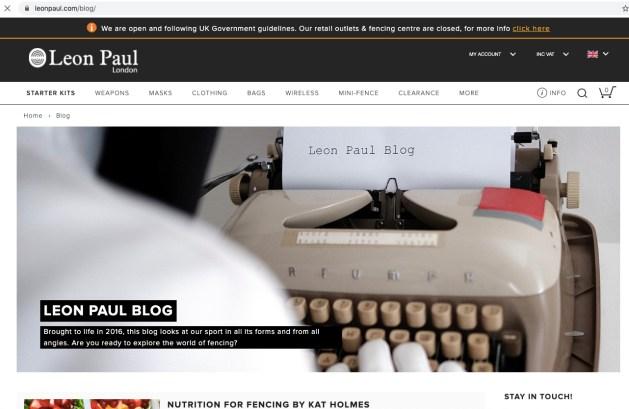 Leon Paul Blog