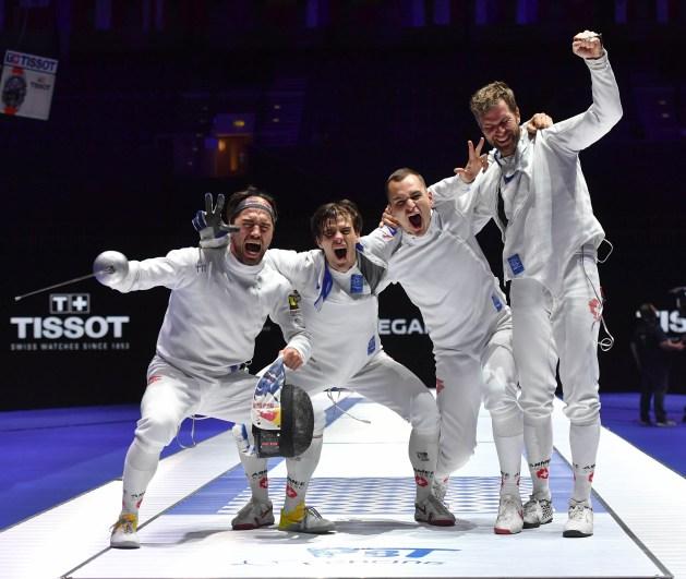 Switzerland - 2018 Men's Epee World Champions