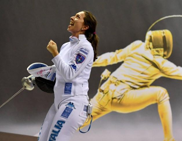 Mara Navarria at Grand Prix in Doha 2020