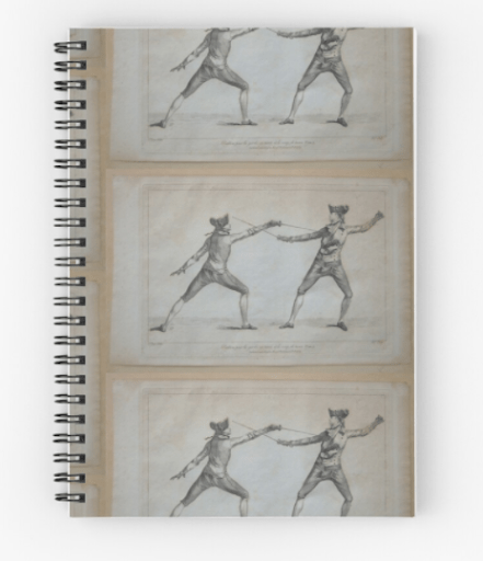 Fencing notebook