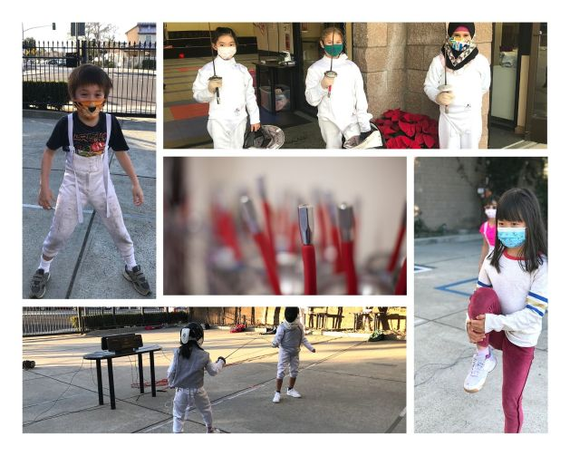 Fencing Summer Camps for Kids in Pandemic