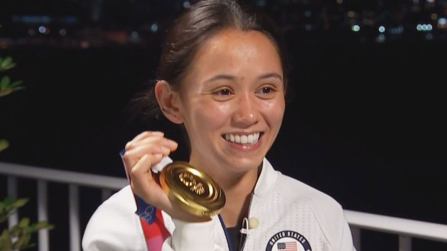 One of the biggest and nicest surprises in the Tokyo Olympics - first time in the history the USA women's foil fencer got a medal, and which one - the GOLD!