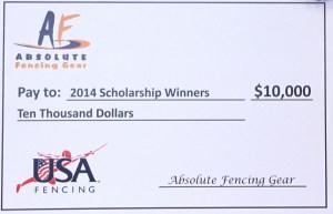 USFA  scholarship 2015-2016