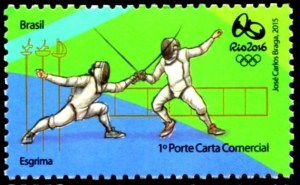 Fencing in the Rio 2016 Olympics