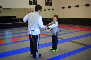 Respect your fencing opponent