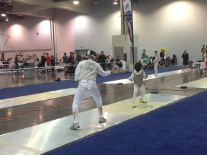 Y12 Foil Fencers are Fencing at 2014 Summer Nationals
