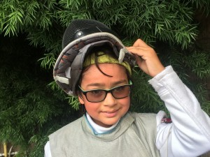 Fencing with glasses - learn how you can use your glasses with your fencing mask to fence comfortably