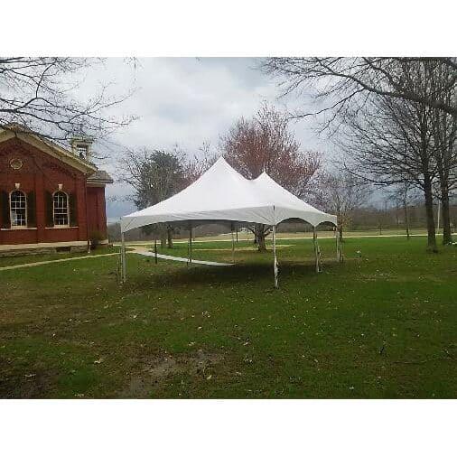 10x20 High Peak Frame Tent Rental