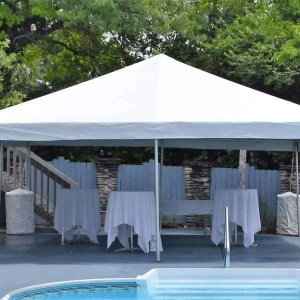 20x20 Frame Tent Rentals