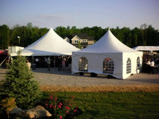 High Peak Frame Tent with Cathedral Sides