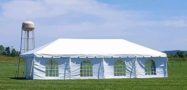 20x40 frame tent rental