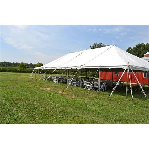 30x60 Pole Tent Rental