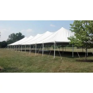 40x140 Pole Tent Rental