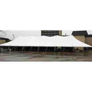 40x160 Pole Tent Rental