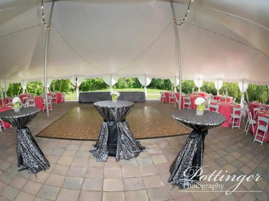 Pole Tent and Bistro Lighting