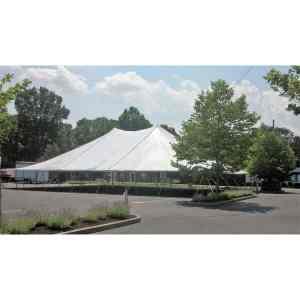 60x80 Pole Tent Rental