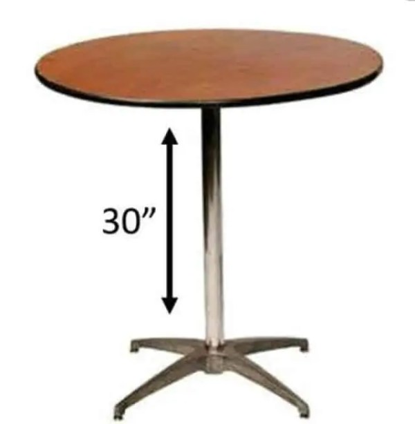 Bistro Table Rental
