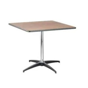 Square bistro table rental